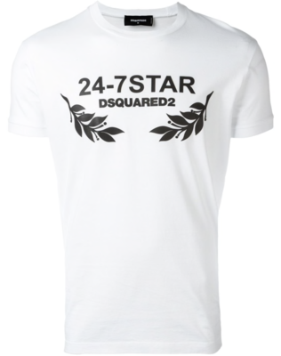 Dsquared2 24-7 Star T-shirt white