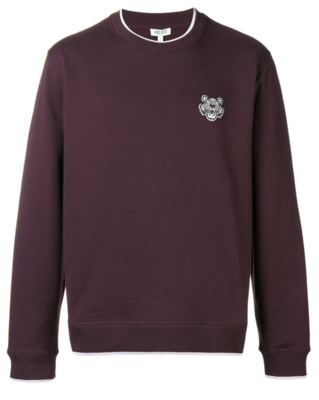 Kenzo Tiger sweater bordeaux