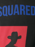 Dsquared2 cowboy print hoodie_