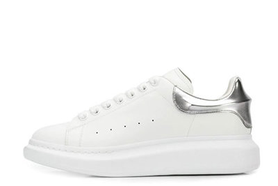 Alexander Mcqueen Heren Sneaker White Silver