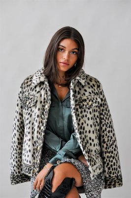 Harper & Yve Jacket Animal Print Dames