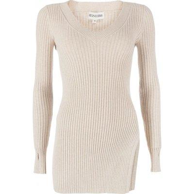 Reinders twin set sweater creme
