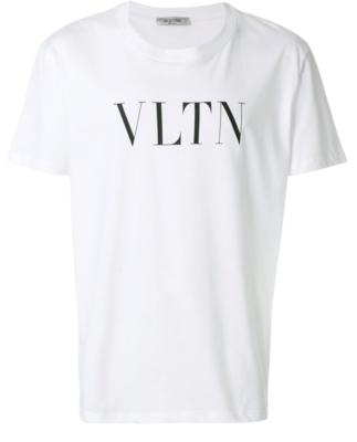 Valentino print t-shirt white