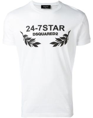 Dsquared2 24-7 Star T-shirt white