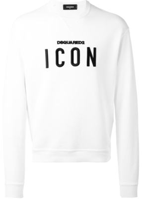 Dsquared2 Icon slogan sweatshirt