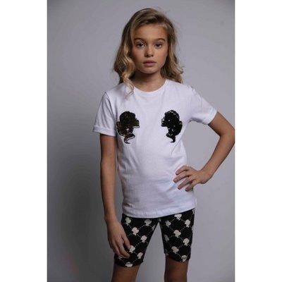 Reinders kids t-shirt headlogo white