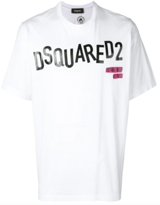 Dsquared2 t-shirt wording