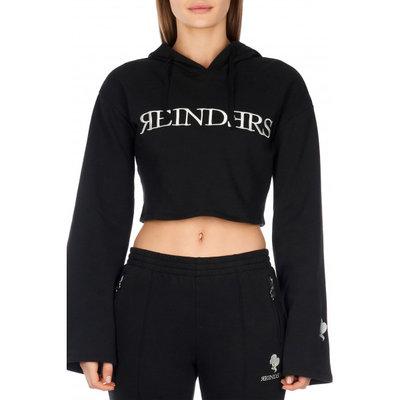 Reinders Hoodie flair sleeve black