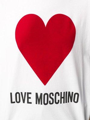 Love Moschino T-shirt hart