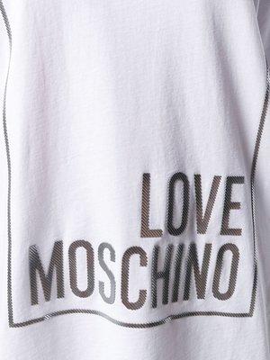 Love Moschino T-shirt basic wit