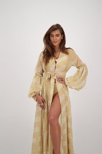 Reinders dress All over print - Creme
