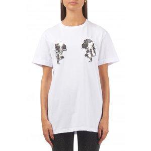 Reinders headlogo shirt white