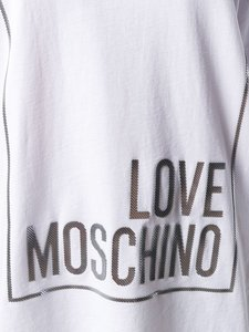 Love Moschino T-shirt basic wit